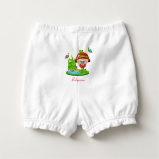 Nature Lover Frog Faery Personalized Diaper Cover