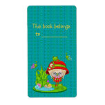 Nature Lover Frog Faery Shipping Label