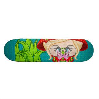 Nature Lover Frog Faery Skateboards