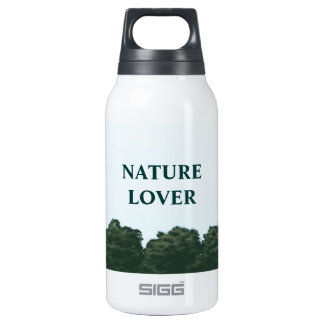 nature lover landscape panorama insulated water bottle