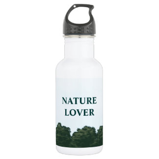 nature lover landscape panorama water bottle