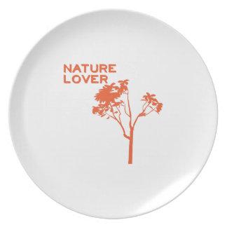 Nature Lover Dinner Plate