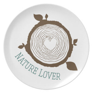 Nature Lover Party Plate
