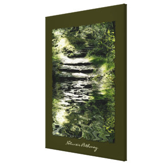 Nature Lover Trees Forest Stone Trails Art Print