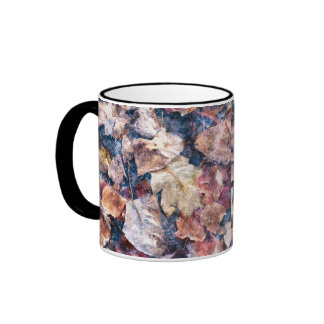 Nature Lover's Autumn Leaves Collection Coffee Mugs