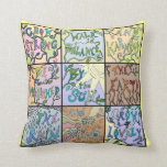 nature lovers collage pillow
