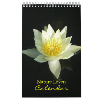 Nature Lovers Photo Calendar