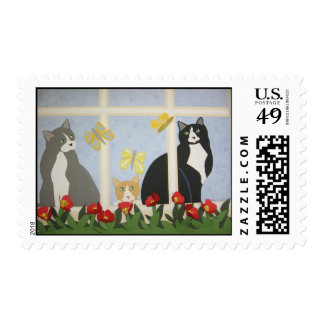 Nature Lovers Postage Stamp