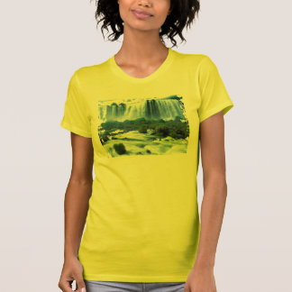 nature lover's ripped water fall t-shirt design