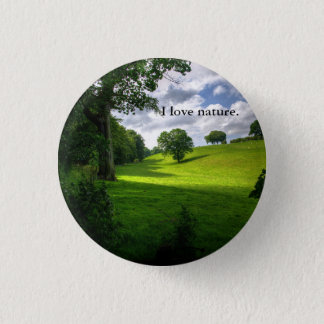 Nature Loving Button