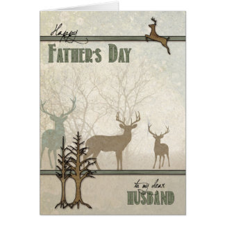 Nature Loving Husband Father's Day Card