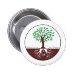 Nature Loving Tree Hugger Pinback Button