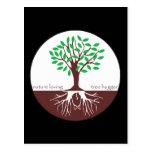 Nature Loving Tree Hugger Postcard