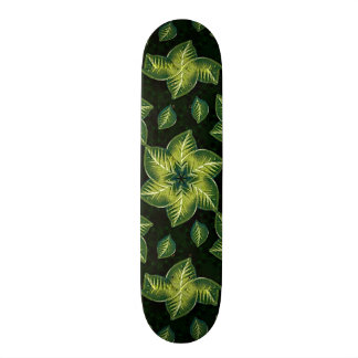 Nature Motif Decorative Skateboard