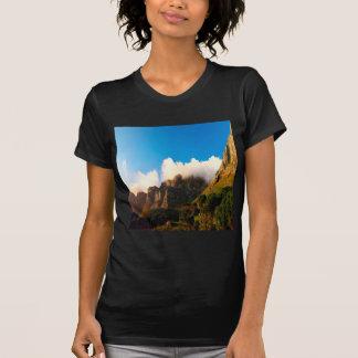 Nature Mountain Sunlit Tops