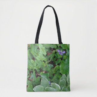 Nature Natural Ferns Plants Gardening Earth Tote Bag