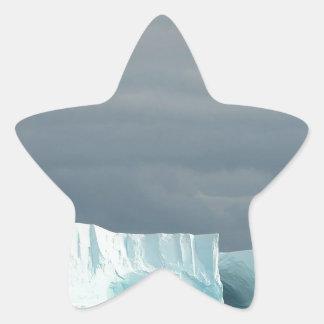 Nature Ocean Glacier Twins Star Stickers