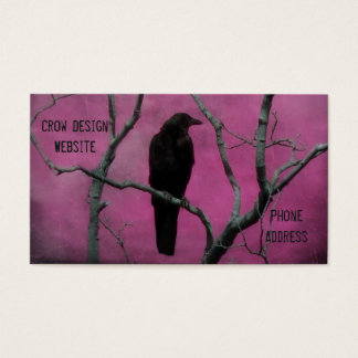 Nature Of Crow Business Card