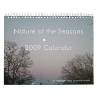 Nature of the Seasons 2009 Calender Calendar
