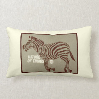 Nature of Things - 1966 promo graphic Lumbar Pillow