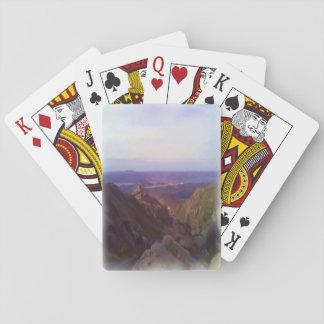 Nature oil paint card decks