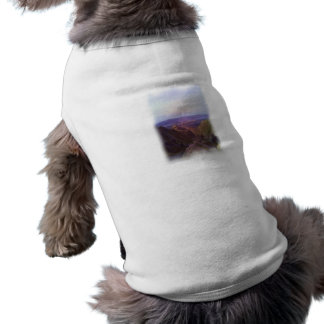 Nature oil paint dog clothing
