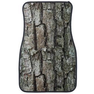 Nature Old Pine Bark Car Floor Mat