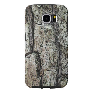 Nature Old Pine Bark Photo Samsung Galaxy S6 Case