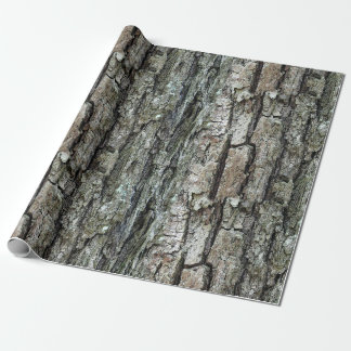 Nature Old Pine Bark Wrapping Paper
