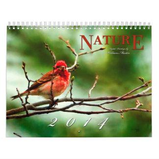 Nature Paintings 2014 Calendar Wall Calendars