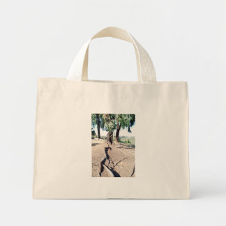 nature path mini tote bag