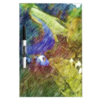Nature photo drawing Dry-Erase board