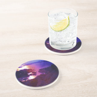 Nature photo drink coaster
