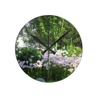 Nature Photo Flowers NewJersey  America NVN665 FUN Round Wall Clocks