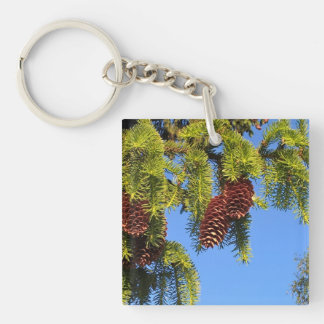 Nature photo keychain
