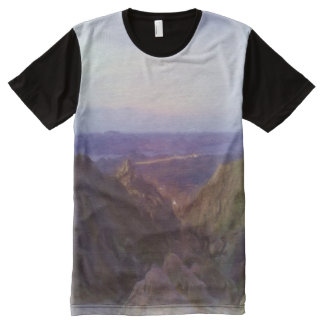Nature photo oil paint effect All-Over-Print shirt