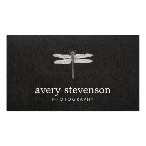 Nature Photography Dragonfly Business Cards