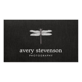 Nature Photography Dragonfly Double-Sided Standard Business Cards (Pack Of 100)