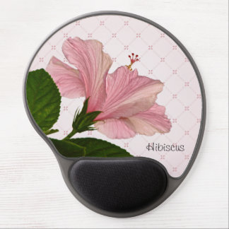 Nature Photography - Pink Hibiscus Photo 2 Gel Mouse Pad