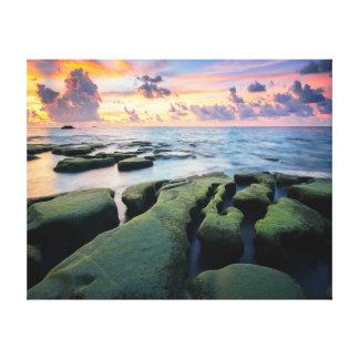 Nature photography |  Rocks | Ocean Canvas Print