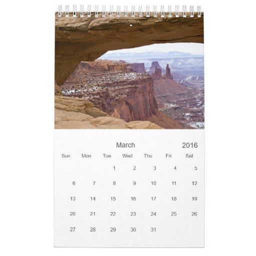 Nature Photos Calendar 2013
