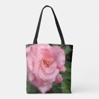 Nature Pink Rose Bloom Tote