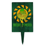 Nature Powered Cake Toppers