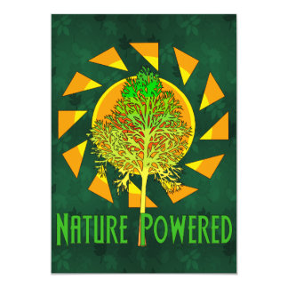Nature Powered Card