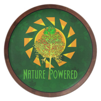 Nature Powered Dinner Plate