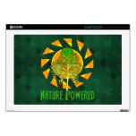 Nature Powered Laptop Decals