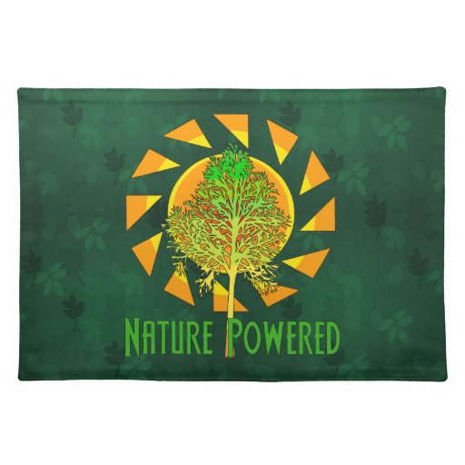 Nature Powered Placemats