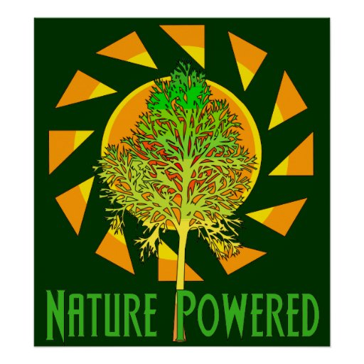 Nature Powered Poster