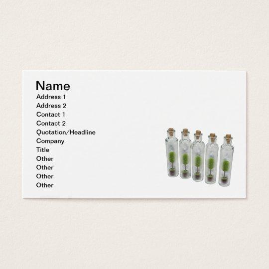 Nature Preserve Jars Business Card