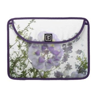 Nature Purple Wisteria Macbook Pro Flap Sleeve MacBook Pro Sleeves